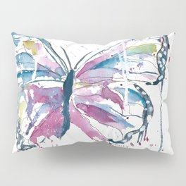 Vibrant Butterfly Pillow Sham