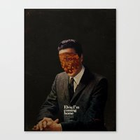 king Canvas Prints featuring King by Frank Moth