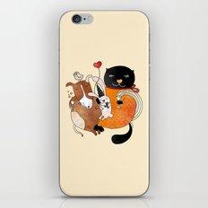 Celebrate Animals iPhone & iPod Skin