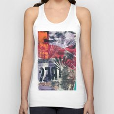 COLLAGE 18 Unisex Tank Top