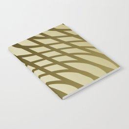Sepia swing lines Notebook