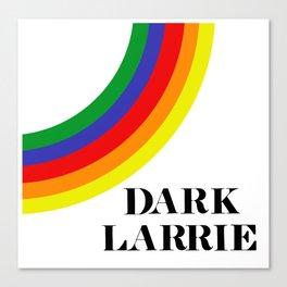 Dark Larrie (Larry Stylinson) Canvas Print