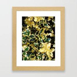 Marbled Thorns Framed Art Print