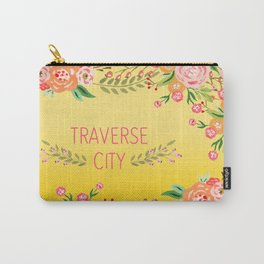 yellow tc flower Carry-All Pouch