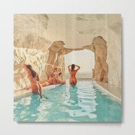 Natural Pool Metal Print