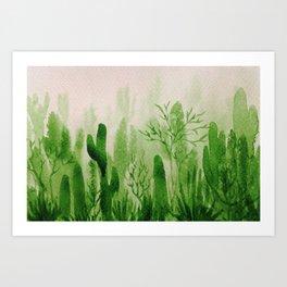 Memory Landscape 2 Art Print