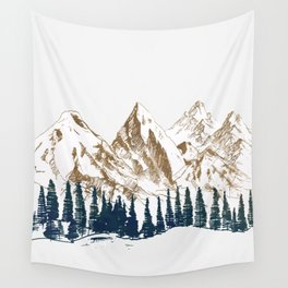 mountains 9 Wall Tapestry
