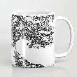 Unity of Halves - Life Tree - Rebirth - White Coffee Mug