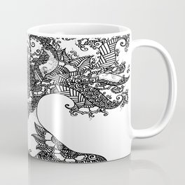 Unity of Halves - Life Tree - Rebirth - White Coffee Mug
