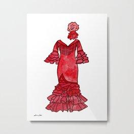 Red Passion Metal Print
