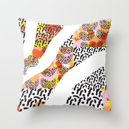 pattern play Throw Pillow