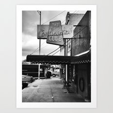 Out Front Art Print