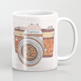WOOD CAN0N Coffee Mug