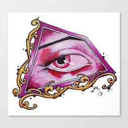 Illuminati Eye Canvas Print