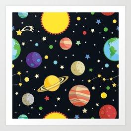 Our Universe Art Print