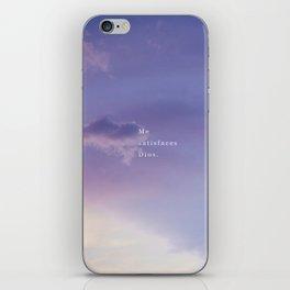 ME SATISFACES DIOS iPhone Skin