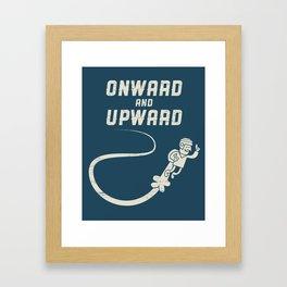 Onwards & Upwards! Framed Art Print