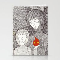 howl Stationery Cards featuring Howl by nu boniglio