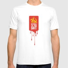 Extremists Mens Fitted Tee White MEDIUM