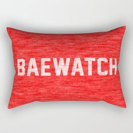 Baewatch Rectangular Pillow