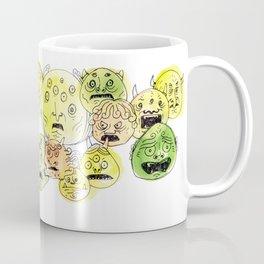 Oni Heads 02 Coffee Mug