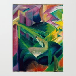 "Franz Marc ""Deer in a Monastery Garden"" Poster"