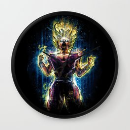 Emotional Fighter Level 2 Wall Clock