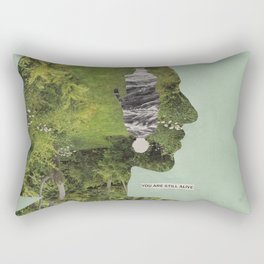 How do I help a friend who seems to be suicidal? Rectangular Pillow
