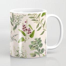 HERBARIUM & PINK CHAMPAGNE Coffee Mug