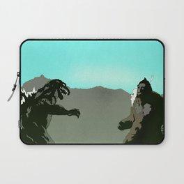 King Kong vs Godzilla Laptop Sleeve