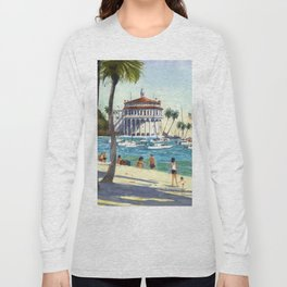 Avalon, Catalina Island Long Sleeve T-shirt