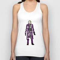 the joker Tank Tops featuring Joker by A Deniz Akerman