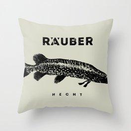 Hecht / Pike Throw Pillow