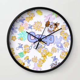 A Peaceful Coup Wall Clock