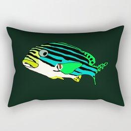 Oriental sweetlips fish Rectangular Pillow