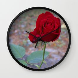 Blooming Day Wall Clock