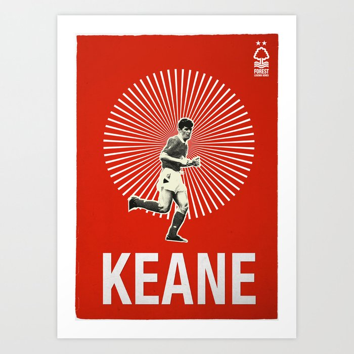 Roy Keane Graphic Poster Art