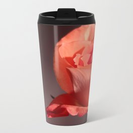 Falling Petals Metal Travel Mug