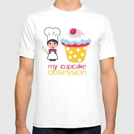 Cupcake obsession T-shirt