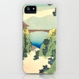 Hanging-cloud Bridge iPhone Case