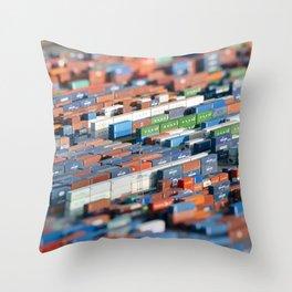 Global shipping Throw Pillow