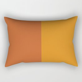 Color Block Abstract I Rectangular Pillow
