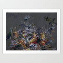 Battle Between the Lapiths and Centaurs Art Print