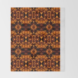 The Valley Gold Throw Blanket