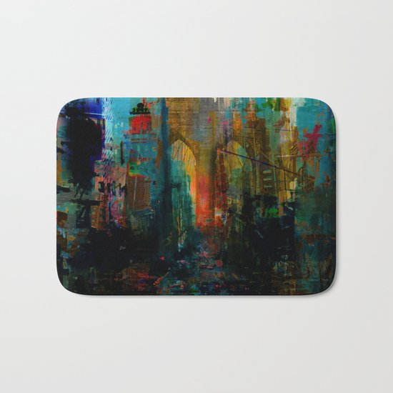 A moment in your city Bath Mat