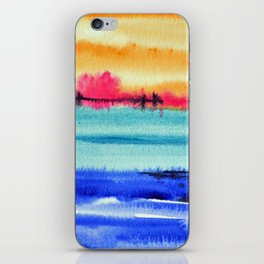 Sunset beauty iPhone Skin