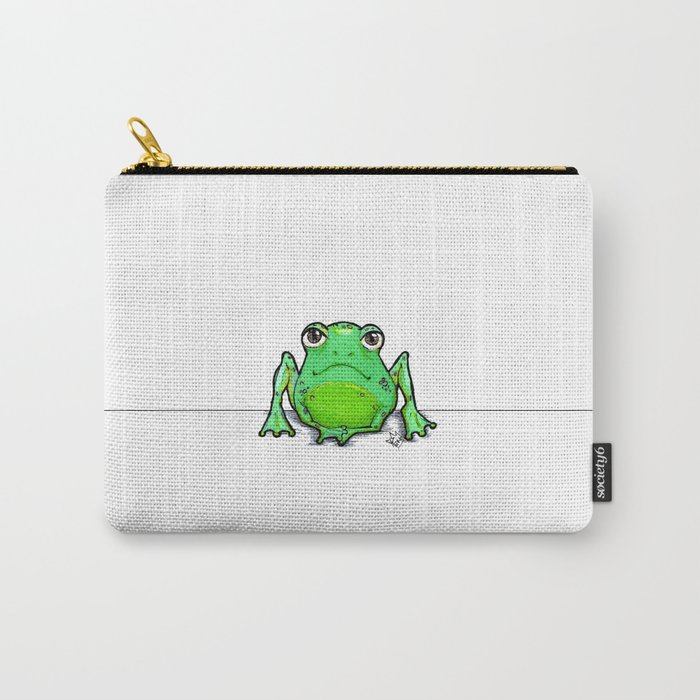 Cute Critters - Froggy Carry-All Pouch