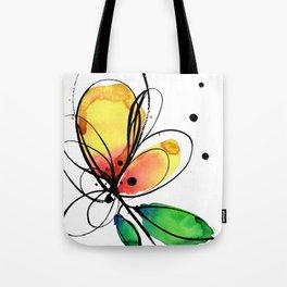Ecstasy Bloom No.8 by Kathy Morton Stanion Tote Bag