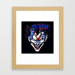 CLOWN FRIEND OR FOE Framed Art Print