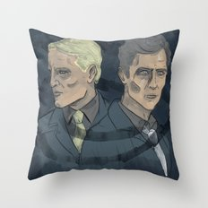 Rust & Marty Throw Pillow
